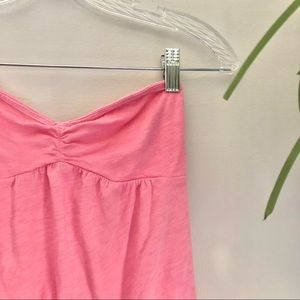 American Eagle Outfitters Pink Strapless Tube Top